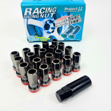 Гайки - Project My Racing Nuts - M12x1.25 (красные)