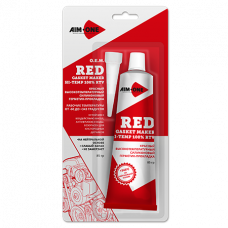 Герметик для прокладок AIM-ONE 85гр (красный)