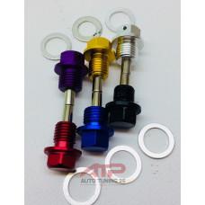 Болт поддона с магнитом - 12X1.5 (разные цвета)