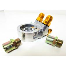 Адаптер GREX с термостатом под фильтр. Проставка под маслокуллер