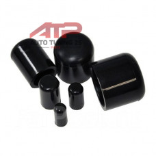 Заглушка силиконовая (черная) 18мм