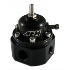 Регулятор давления топлива - AEM от 20psi (вход / выход AN6, обратка AN6) до 1000л.с.