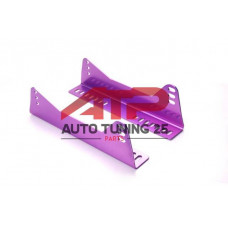Крепление для спортивных ковшей из алюминия - фиолетовые