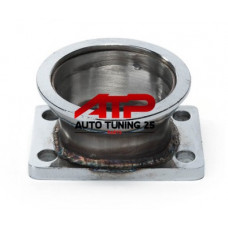 Адаптер турбины - T3 в V-band 3'' - 76мм (фланец)