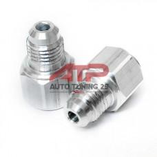 Адаптет турбины - для подачи масла в штатную трубку - Subaru 12ММ в AN4