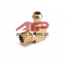 Адаптер - 1/8-7мм  90 градусов (бронза)