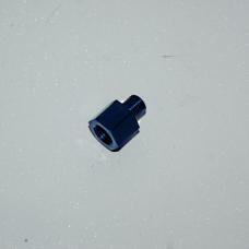 Адаптер 1/8 папа - М12*1.25 мама алюминий