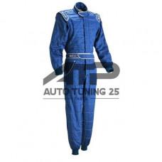 Комбинезон спортивный для авто спорта - Sparco - синий