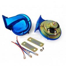 Гудки - Сигнал автомобильный - 12V (синий)