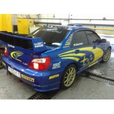 Гребень на крышу - Subaru Impreza WRX STI GDA GDB v7-9 Vortex