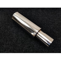 Бочка APEXI style 63мм - Универсальный прямоточный глушитель 56см