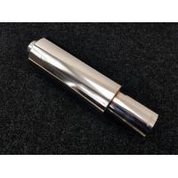 Бочка APEXI style 76мм - Универсальный прямоточный глушитель 56см