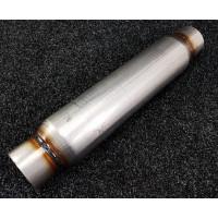 Резонатор спортивный направленный  прямоточный 76мм - Универсальный глушитель 51см