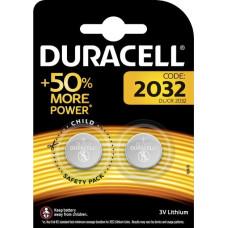 DURACELL Батарейки Spec 2032 2шт