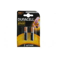 DURACELL Батарейки ААА 2шт