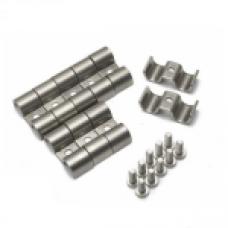 Зажимы под два провода 38 мм, 13 мм 1/4 (10 шт)